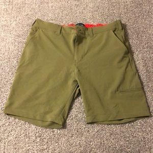 Five Four Men's Athleisure Shorts - Military Green